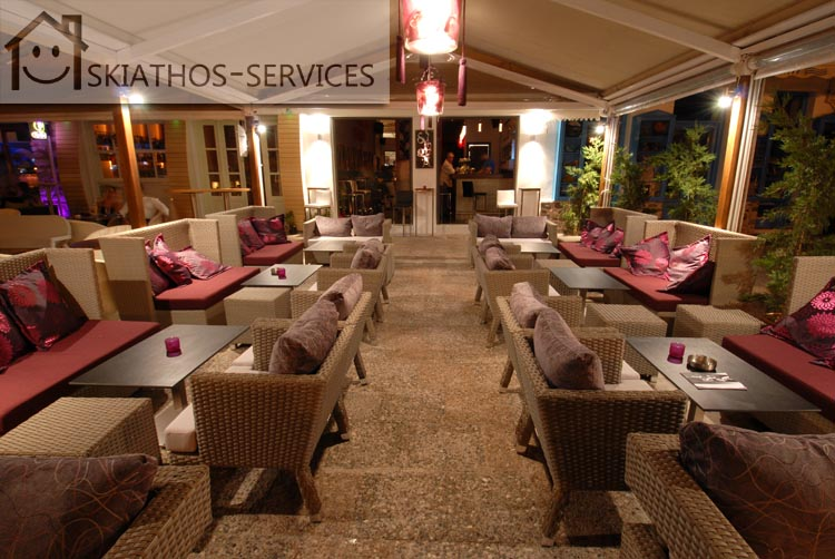 Cafe-Bar In Old Port Of Skiathos