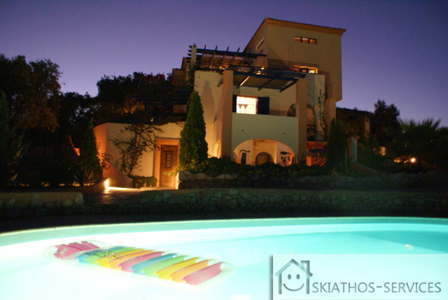 Villa With Pool And Sea View In Vigles, Skiathos
