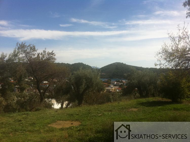 450 Square Metre Plot With View In Skiathos Town